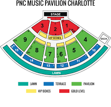 Pnc Music Pavilion Charlotte Nc Events Tickets