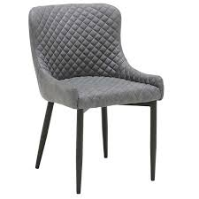 rivington faux leather dining armchair