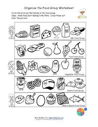 Small Picture Free food groups printable nutrition education worksheet Kids