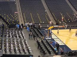 Pepsi Center End Loge Basketball Seating Rateyourseats Com
