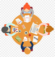 meeting euclidean vector round table round table meeting icon 941606