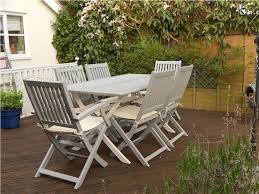 wooden outdoor furniture painted. Inspiration Idea Painted Outdoor Furniture With Tired Garden Given A New Lease Of Life Wooden E
