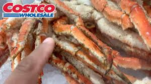 King Crab Leg Shopping At Costco - YouTube
