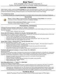 Sample Social Media Resume Cute Social Media Sample Resume For Digitalroject Manager Cover 96