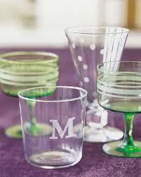 Diy Glass Cup Designs Etched Glass Martha Stewart