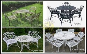 outdoor table chair set at rs 26000