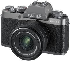 Купить <b>фотоаппарат Fujifilm X-T100 Kit</b> 15-45mm dark silver в ...