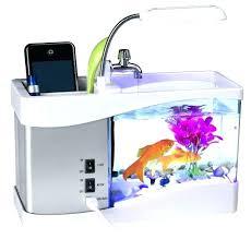 fish for office. Self Cleaning Fish Tank Walmart Office Desk Organizer Mini Desktop Aquarium Simple For E