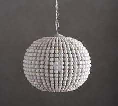 leila wood bead pendant