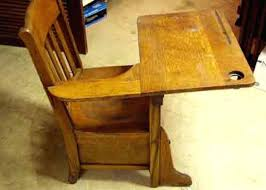 wooden school desk and chair. 1920s School Desk Antique Chair 1920 Wooden . And