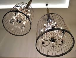 birdcage chandelier cage beautiful and popular ceiling fan with remote white tree silver lakengs black archived