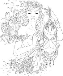 Line Artsy Free Adult Coloring Page