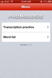 Finally, learn the transcriptions of the sounds you have in your language book: This App Is Awesome For Practicing Phonetic Transcription So Glad I Found This Speech And Language Speech Language Pathology Esl Teaching
