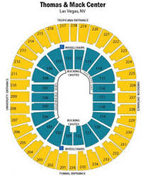 Thomas And Mack Center Seating Chart Las Vegas Nv Tickets Ufc Pbr Concerts Preferred Seats