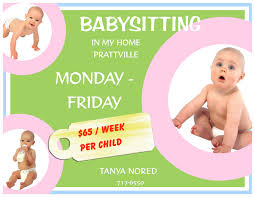 babysitting add doc tk babysitting add 23 04 2017