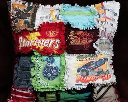 T-shirt Rag Pillow for College-Bound Kids &  Adamdwight.com