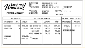 Free Payroll Stub Template Delectable Create A Pay Stub Template Yolarcinetonicco