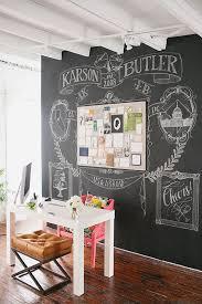 chalkboard wall artwork