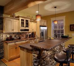 Western Style Kitchen Cabinets Warm Cozy And Inviting Rustic Kitchen Interiors