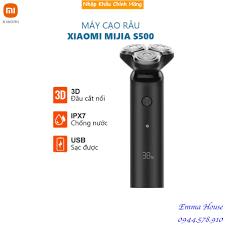 Máy cạo râu Xiaomi Electric Shaver Mijia S500 3 đầu - Bảo hành 3 tháng
