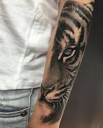white tiger with blue eyes tattoo. Brilliant Eyes Another Tiger Eye Working In Other Finishes Constantlearning Thanks You So  Much Carolin Done Latintaquehabito Valencia With Killerinktattoo  White Tiger Blue Eyes Tattoo W