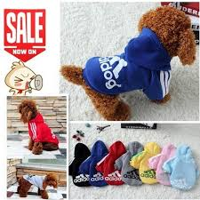 Pet <b>Dog Clothes Spring</b> Summer Hoodie Coat Jumpsuit Sweater ...