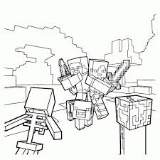 25 Vinden Minecraft Poppetje Steve Kleurplaat Mandala Kleurplaat