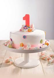 1st Birthday Cake Round