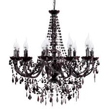 home lighting black chandelier 12 arm