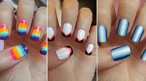 diy nail polish designs for short nails