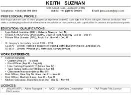 airline resume format part 2 resume template for high school students