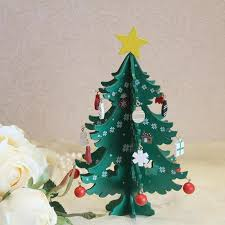 3d diy cartoon wooden christmas tree decorations for home noel new year gifts ornament table desk party wedding ornaments 20 christmas ornaments to