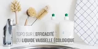 topo sur le liquide vaisselle naturel