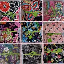 Vera Bradley Discontinued Patterns Gorgeous VERA BRADLEY ASSORTED Retired Patterns Fleece Throw Blankets You