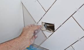 fit the cut tile