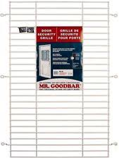 Mr Goodbar 72 in X 36 in White Commercial Door Grille Window