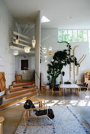 retro vibe living room