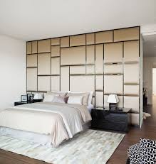 Small Picture Fabric covered wall panels create really interesting