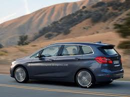 Coupe Series bmw 2 series active tourer : BMW 2 Series Active Tourer 7-Seater Rendered - autoevolution