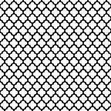 Lattice Pattern Classy Seamless Vintage Trellis Lattice Pattern Background Stock Vector