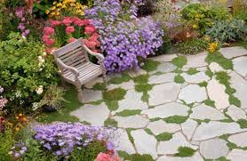 Small Picture Garden Patio Flagstone Patio And Simple Garden Best 25 Stone