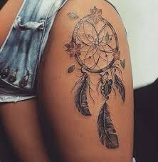 Cute Dream Catcher Tattoos cute dreamcatcher tattoo idea ink YouQueen girly tattoos 34