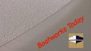 applying awlgrip nonskid using soft sand rubber