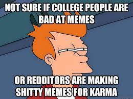 Suspicious Fry memes | quickmeme via Relatably.com