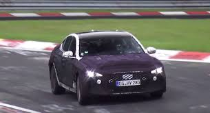 2018 genesis twin turbo. interesting twin 2018 genesis g70 testing at the nurburgring as sporty bmw 3 series intended genesis twin turbo