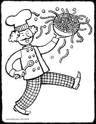Keuken Colouring Pages Pagina 4 Van 6 Kiddicolour