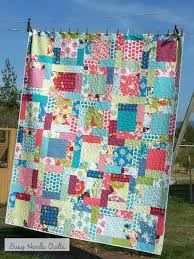 284 best Quilts I've Made images on Pinterest | Quilts, Quilt ... & Happy Twin Quilt in Just Wing It~ 70