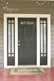 best 20 painting front doors ideas on painting doors popular of white entry doors with sidelights