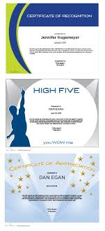 free recognition certificates certificate maker terryberry