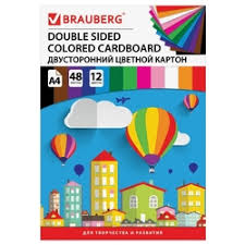 Купить <b>цветная бумага</b> и картон <b>brauberg</b> в интернет-магазине ...